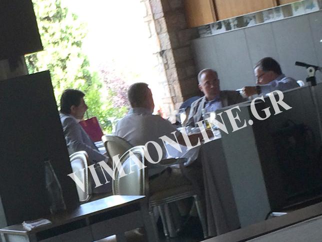 Μυστικό γεύμα δυσαρεστημένων πρώην υπουργών της Ν.Δ. στο Διόνυσο!